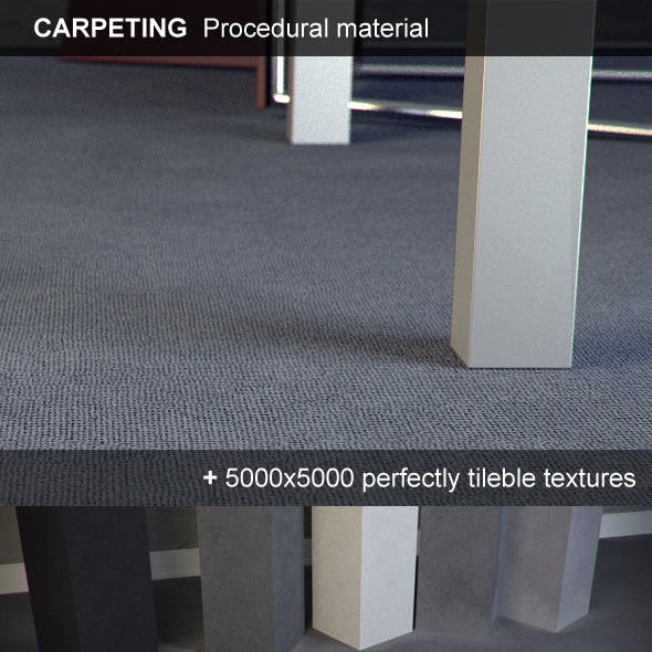 Carpeting Hi-Res procedural material