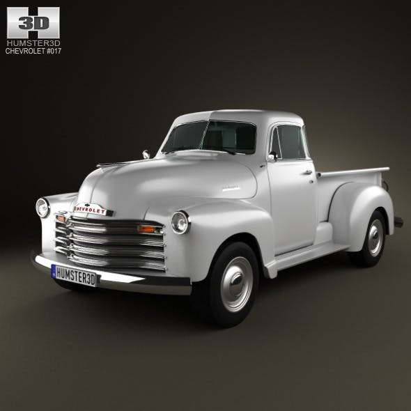 Chevrolet Advance Design Pickup 1951 - 3DOcean Item for Sale