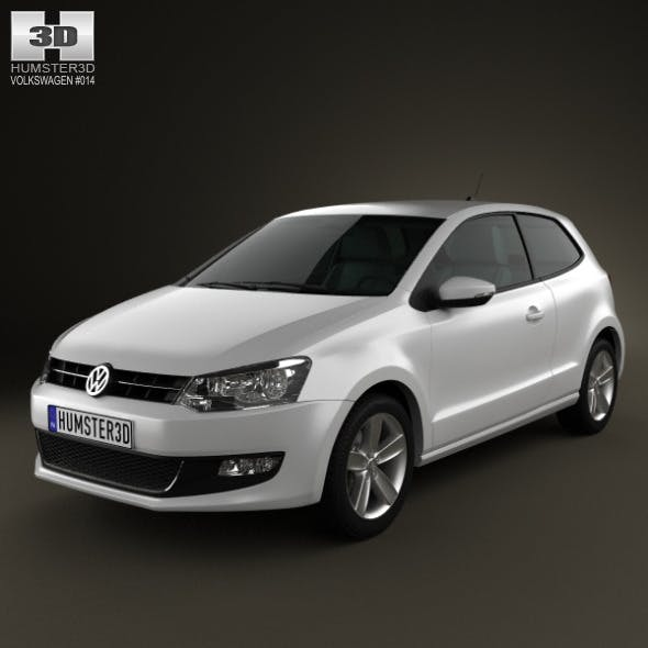 Volkswagen Polo 3door 2010