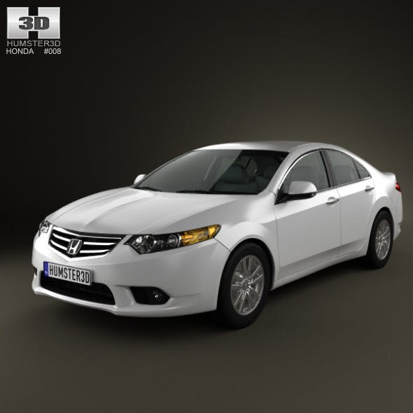 Honda Accord Sedan 2011 - 3DOcean Item for Sale