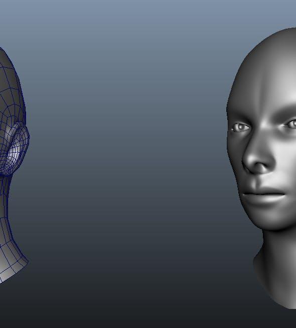 Human Head - 3DOcean Item for Sale