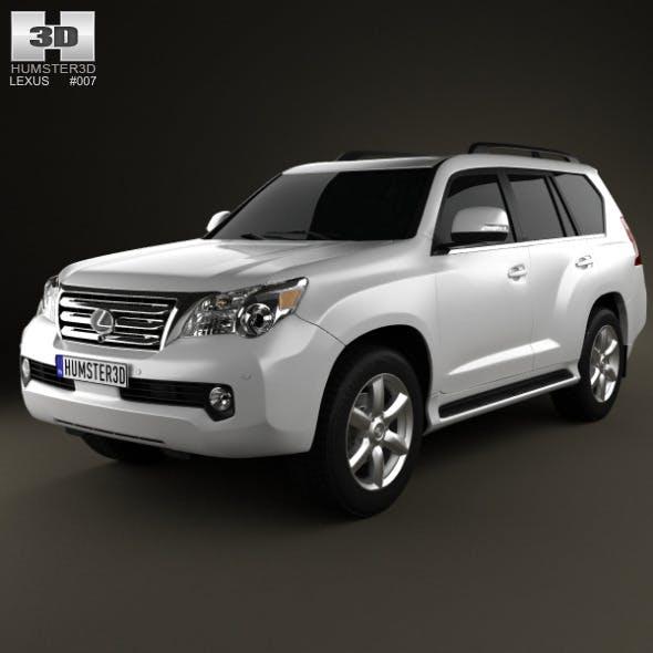 Lexus GX 460 2010 - 3DOcean Item for Sale