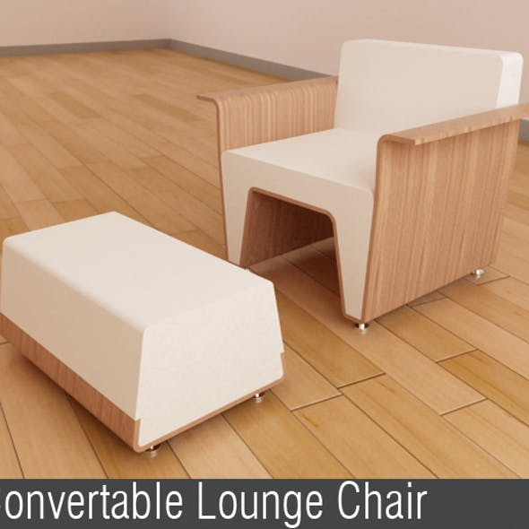 Convertable Lounge Chair