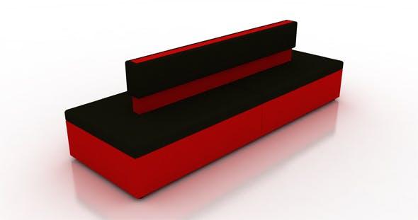 Lounge sofa - 3DOcean Item for Sale