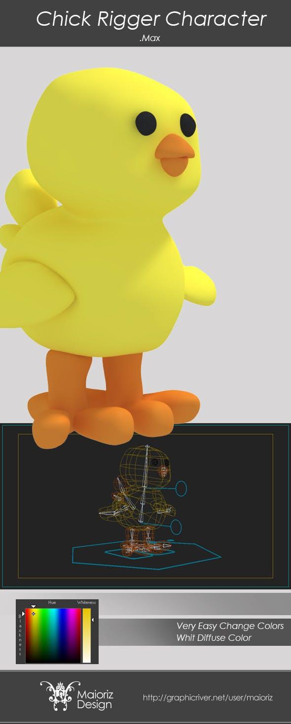 Chick Rigger - 3DOcean Item for Sale