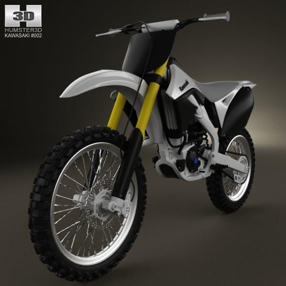 Kawasaki KX250F 2012 - 3DOcean Item for Sale