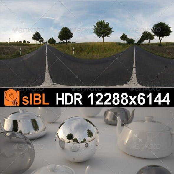 HDR 069 Road Sunrise sIBL