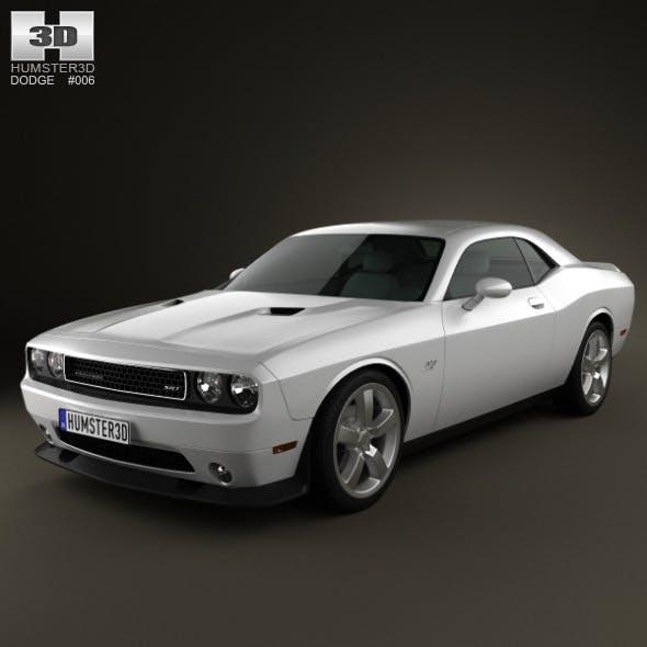 Dodge Challenger SRT8 2011 - 3DOcean Item for Sale