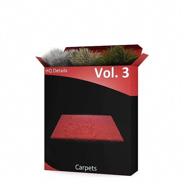 HQ Details - Vol.3 Carpets - 3DOcean Item for Sale