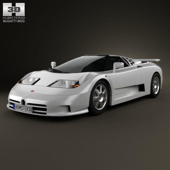 Bugatti EB110 1991