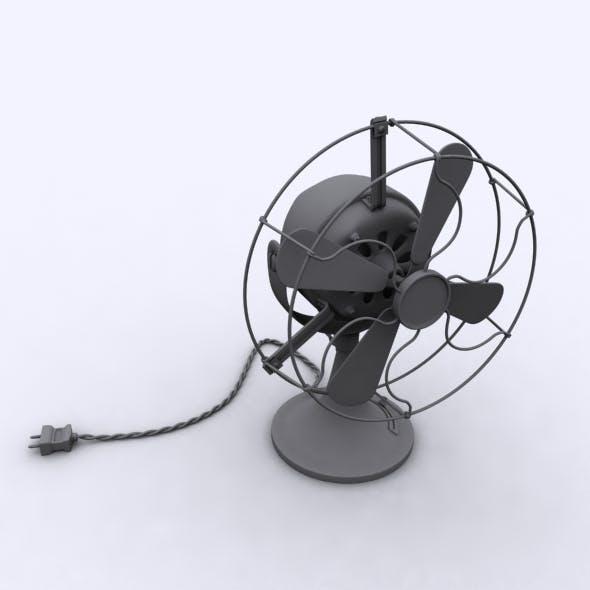 Old Fan - 3DOcean Item for Sale
