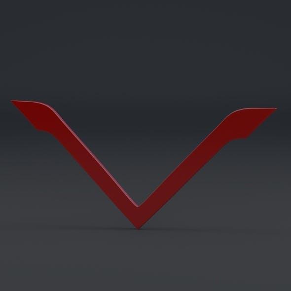 Venturi Logo - 3DOcean Item for Sale