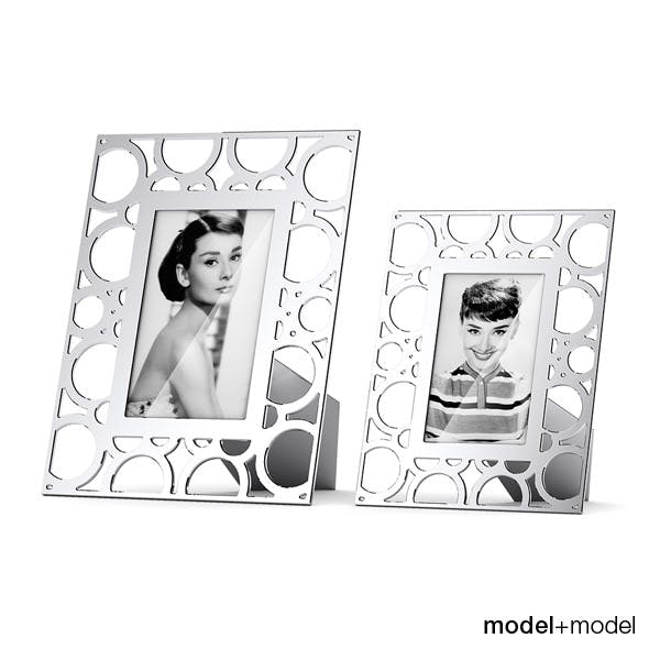 Circle picture frames - 3DOcean Item for Sale