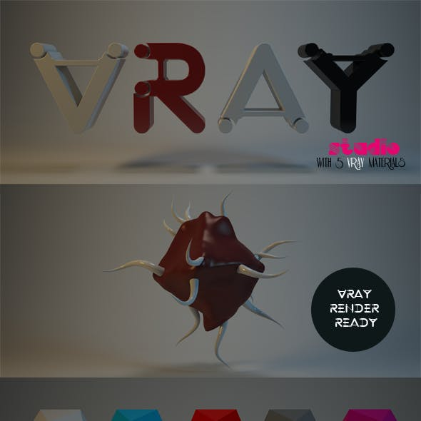Vray Studio And Materials