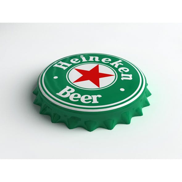 Heineken Bottle Tin Cap
