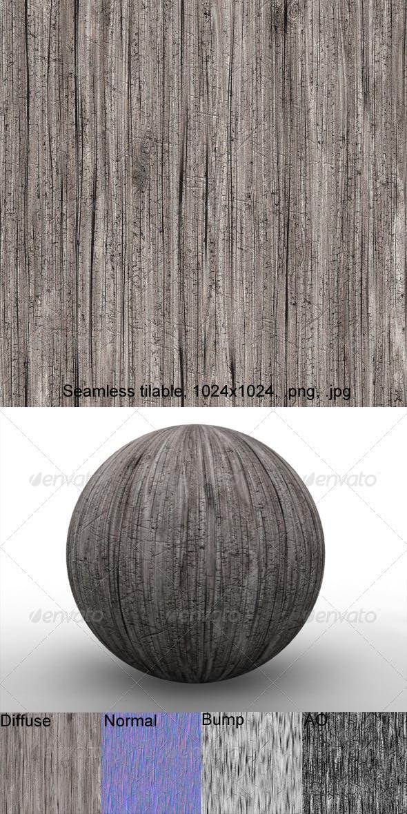 Rough Wood 1 - 3DOcean Item for Sale