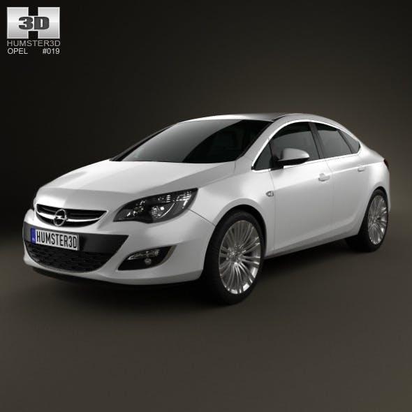 Opel Astra J sedan 2012
