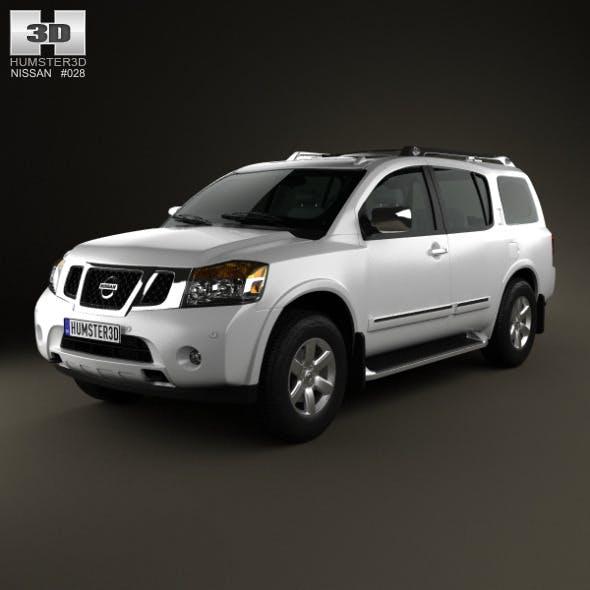 Nissan Armada 2012 - 3DOcean Item for Sale