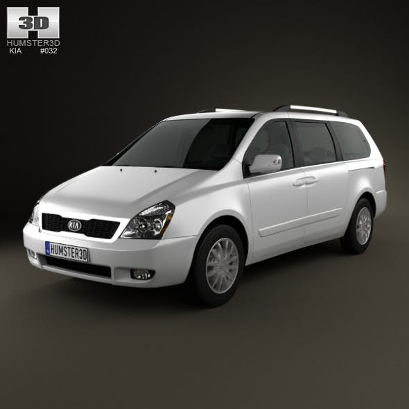 Kia Sedona (Carnival) LWB 2012 - 3DOcean Item for Sale