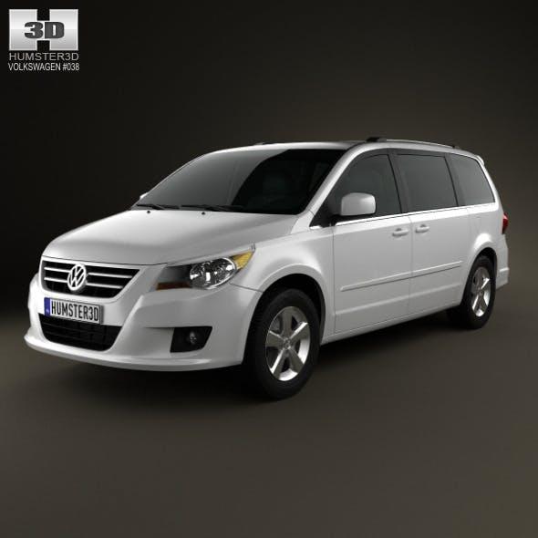 Volkswagen Routan 2012 - 3DOcean Item for Sale