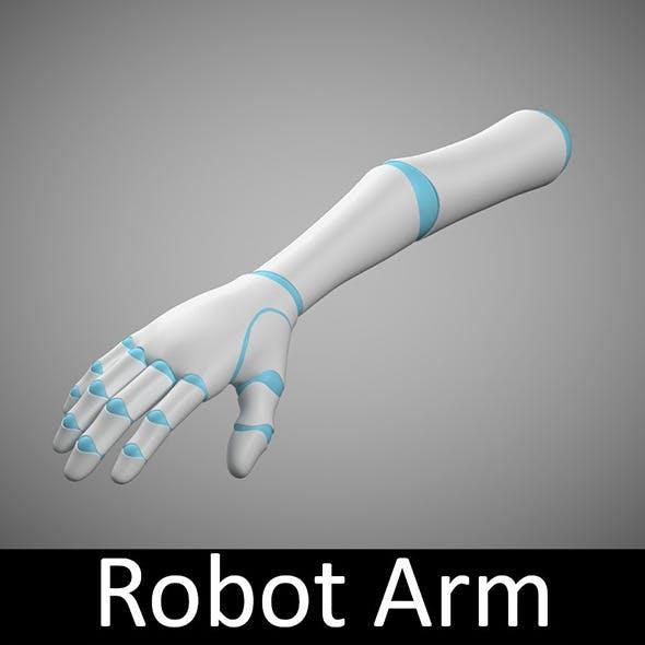 Robot Arm - 3DOcean Item for Sale