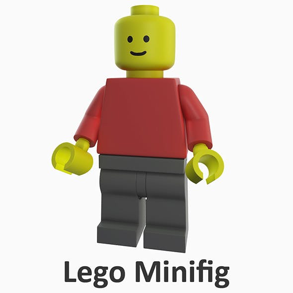 Lego Minifig - 3DOcean Item for Sale