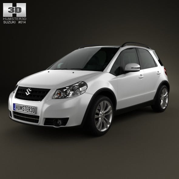 Suzuki (Maruti) SX4 hatchback 2012 - 3DOcean Item for Sale