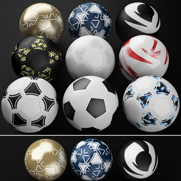 Football Soccer Ball Pack