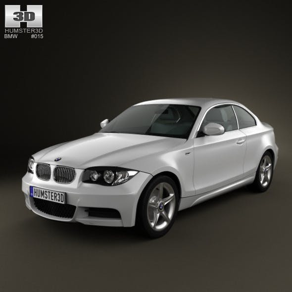 BMW 1-series 3door coupe 2009 - 3DOcean Item for Sale