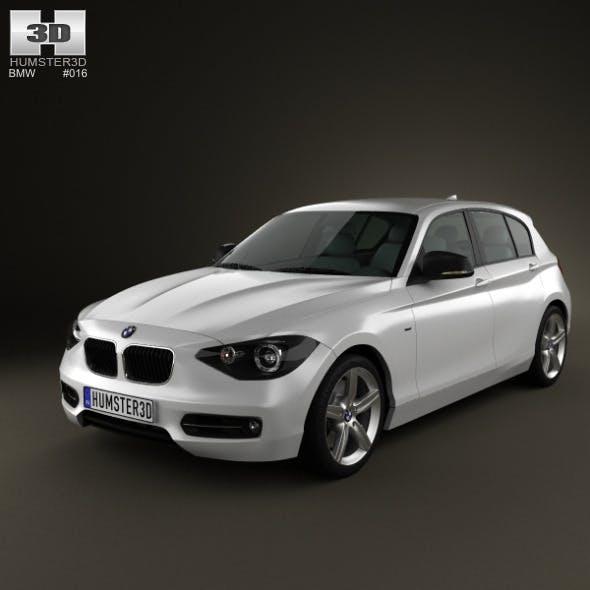 BMW 1-series 5door 2011 - 3DOcean Item for Sale