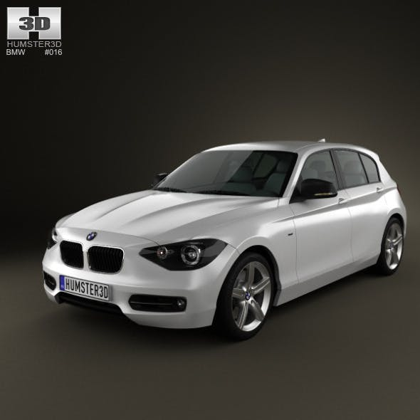 BMW 1-series 5door 2011