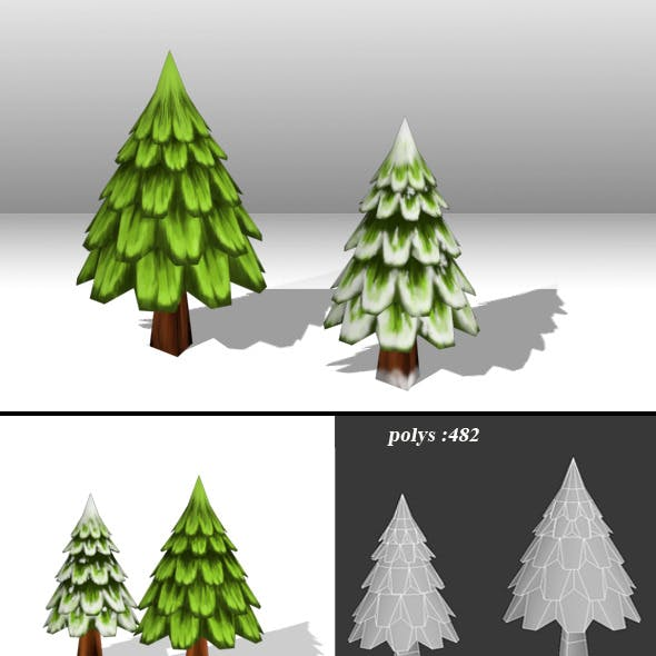 Christmas Tree low poly