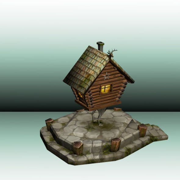 Witch's House Low Poly