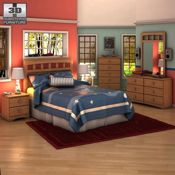 Ashley Benjamin Panel Bedroom Set