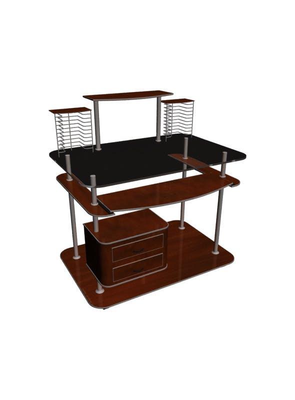Computer Trolley 3D Model - 3DOcean Item for Sale