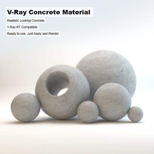 V-Ray Concrete Material
