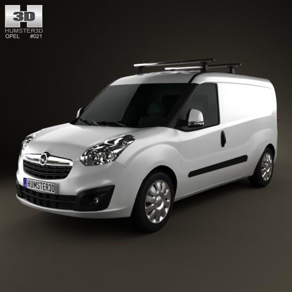 Opel Combo D Panel Van L2H1 2012 - 3DOcean Item for Sale
