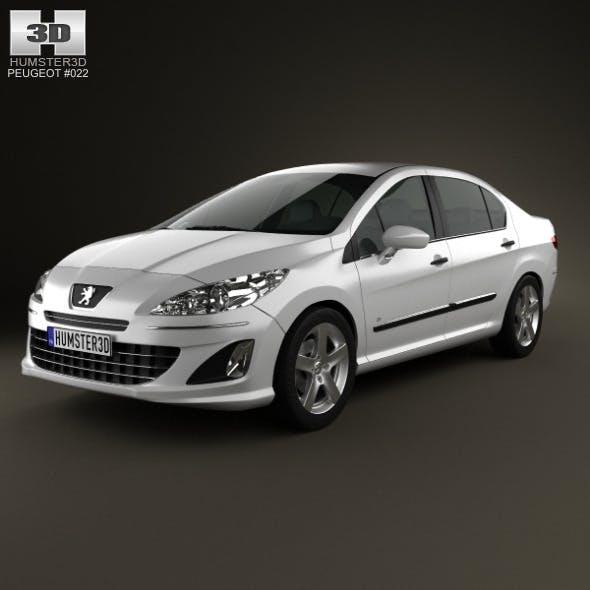 Peugeot 408 2012 - 3DOcean Item for Sale