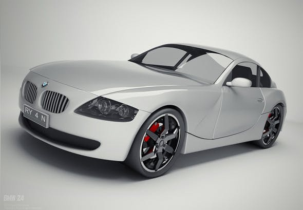 BMW Z4 Coupe - 3DOcean Item for Sale