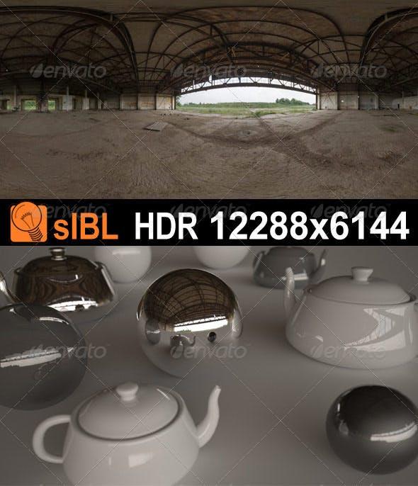 HDR 071 Old Hangar sIBL - 3DOcean Item for Sale