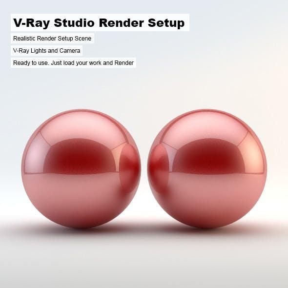 V-Ray Studio Render Setup - 3DOcean Item for Sale