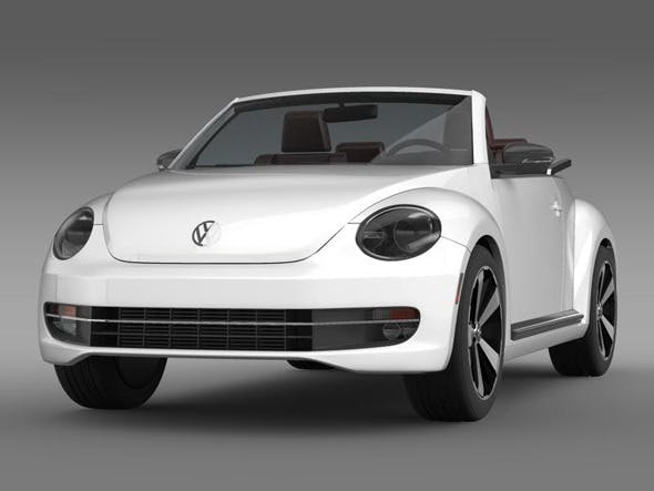 VW Beetle Cabrio - 3DOcean Item for Sale