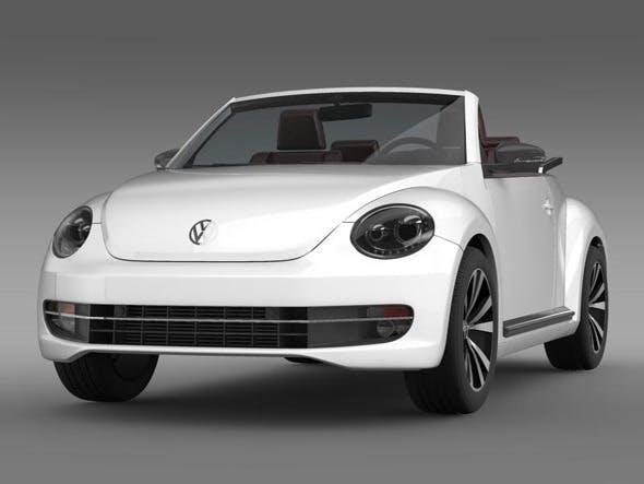 VW Beetle Cabrio sport  - 3DOcean Item for Sale