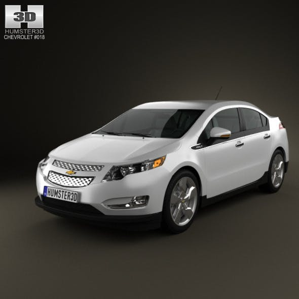 Chevrolet Volt 2011 - 3DOcean Item for Sale