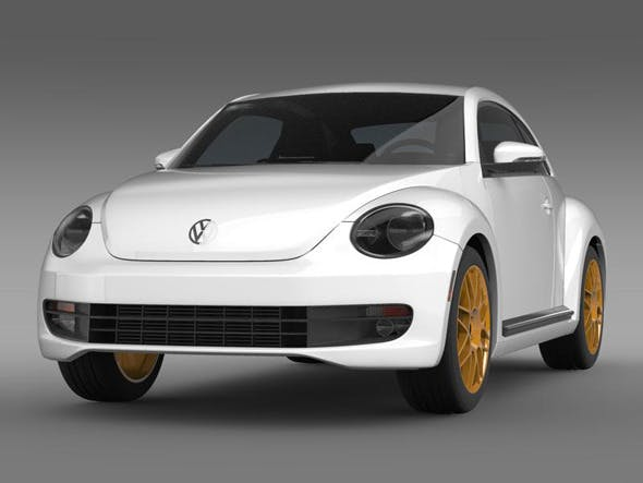 VW Beetle RS 2012   - 3DOcean Item for Sale