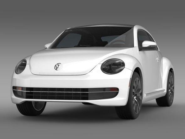 VW Beetle TDI 2013   - 3DOcean Item for Sale