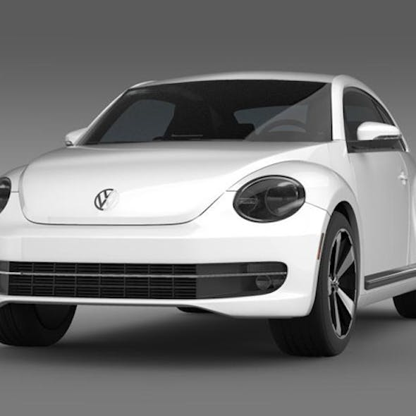 VW Beetle Turbo Black