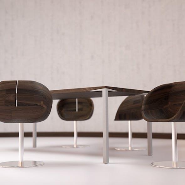 The Creative Group Gioconda Chair Model