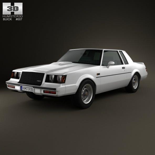 Buick Regal Grand National 1987 - 3DOcean Item for Sale