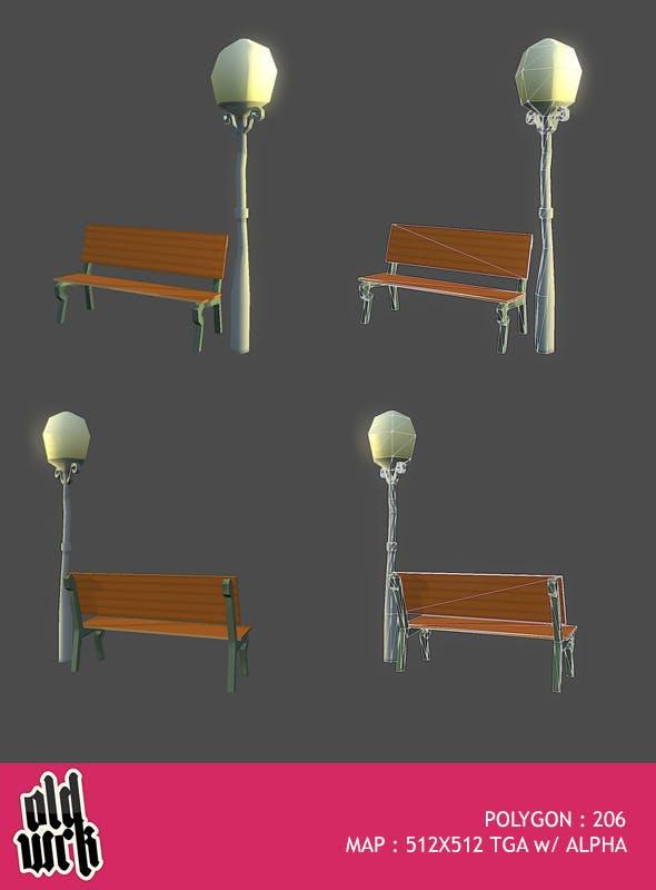 Street Bits #1 - 3DOcean Item for Sale
